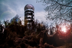 Abhörstation am Teufelsberg Berlin - Photoshop 1