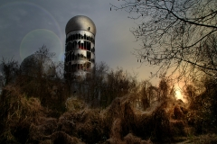 Abhörstation am Teufelsberg Berlin - Photoshop 2
